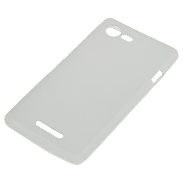 Back Cover transparant vr. Sony Xperia E3