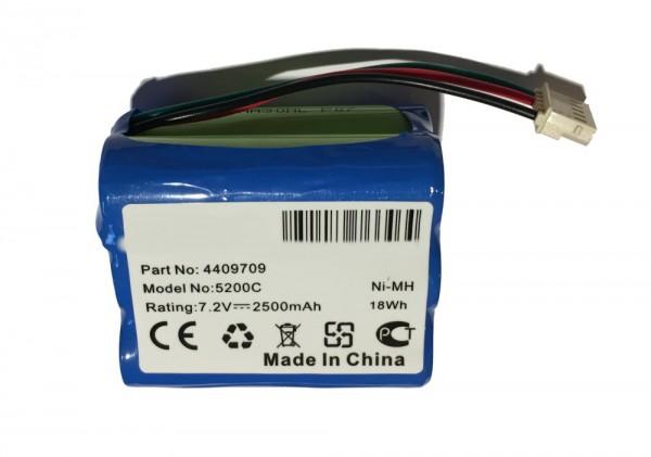 Batterij 2500 mAh voor iRobot Braava 390T