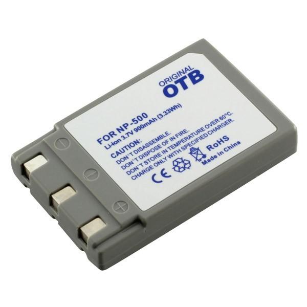 Batterij v. Konica Minolta Dimage G600