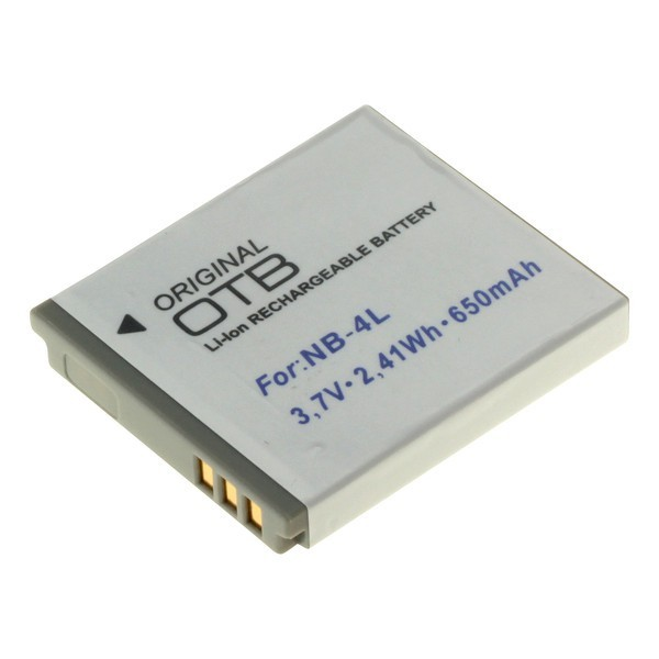 Batterij v. CANON -NB 4 L