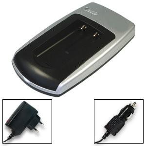 Batterij Oplader vr. Konica Minolta Dimage E50