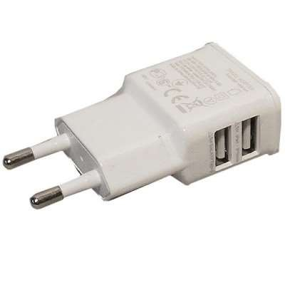 Dubbele USB Oplader 2A - voor Huawei Ascend W1