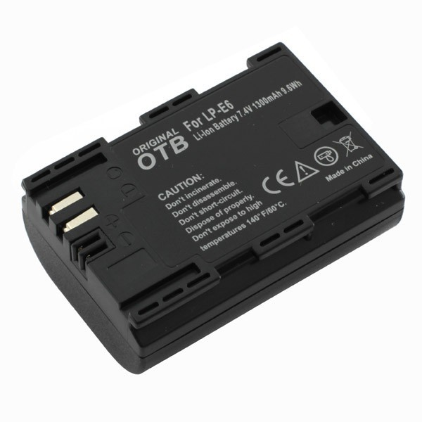 LP-E6 batterij