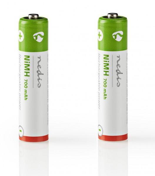 2x telefoon batterij voor Philips Faro